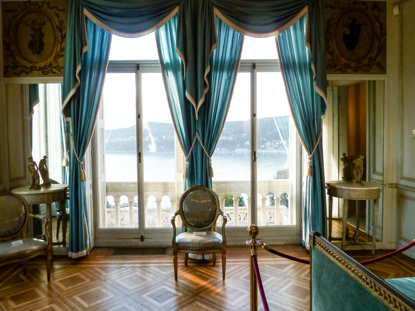 Villa Ephrussi de Rothschildam Saint-Jean Cap Ferrat Cote d'Azur