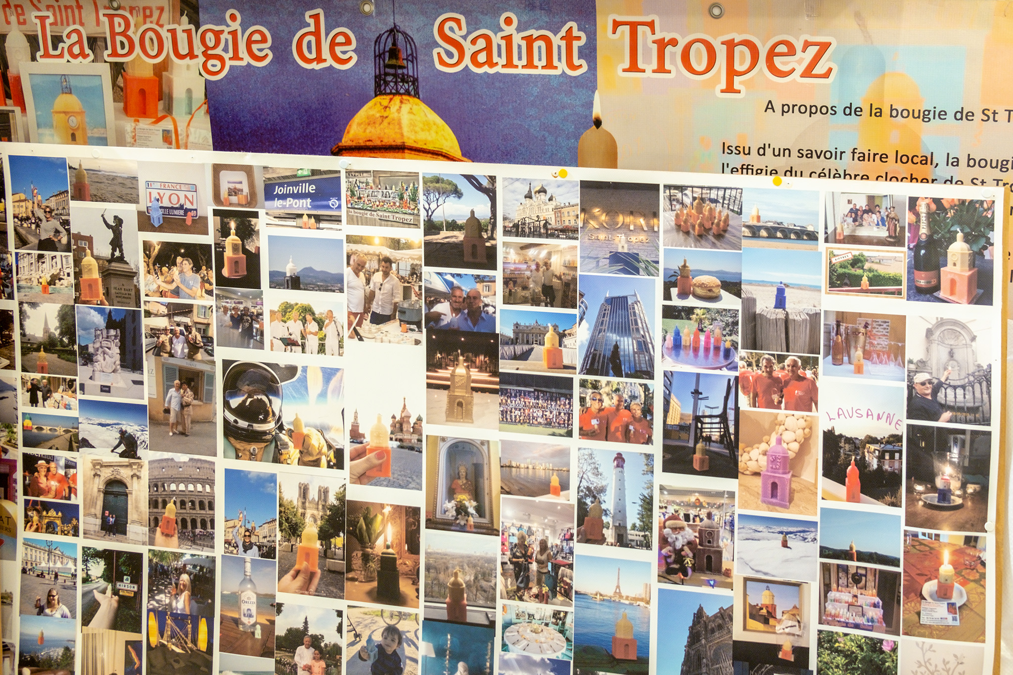 Kerzen aus St. Tropez sind ein tolles Mitbringsel aus dem Urlaub