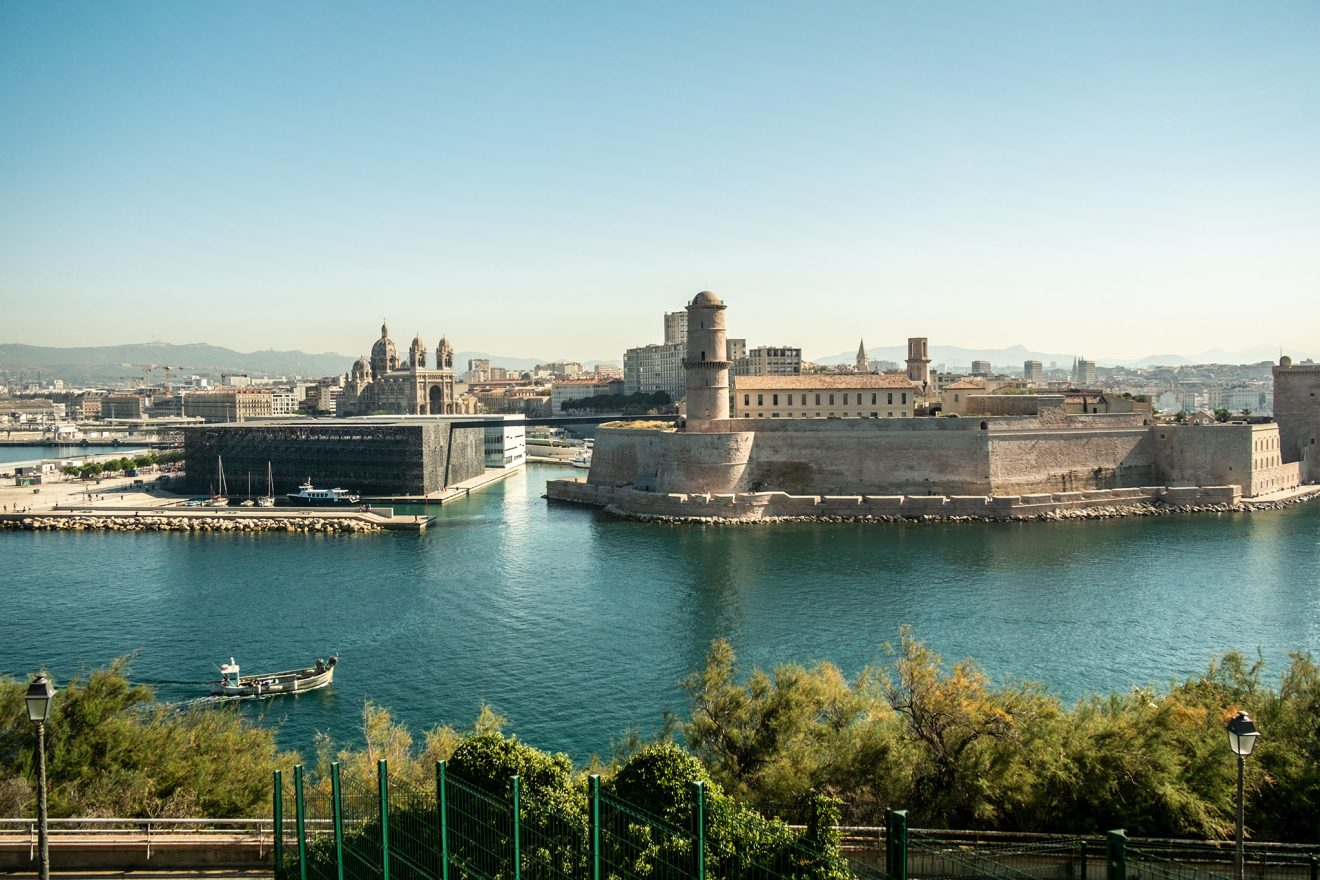 Hafeneinfahrt von Marseille