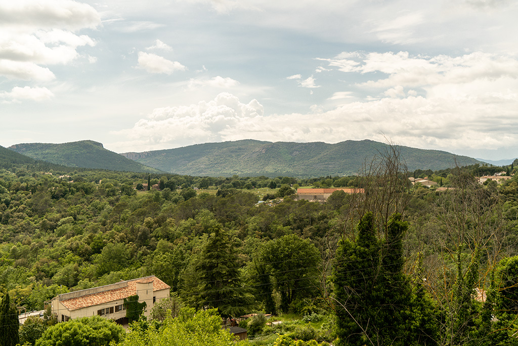 Die Ebene und das Massif de l'Esterel